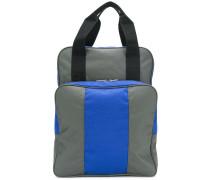 stripe shoulder bag