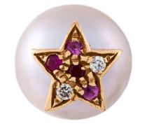 'Superstellar' pearl, diamond, ruby and sapphire