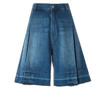 Ausgefranste Jeans-Bermudas