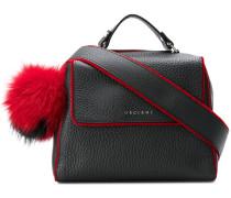 pom pom soft lined bag