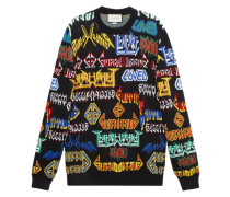 'Metal Mix' Pullover