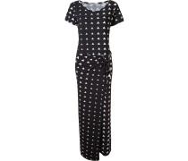 triangle print maxi dress