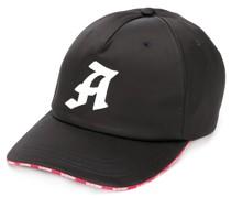 Baseballkappe mit Logo-Print