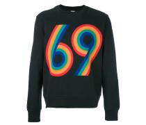 """Sweatshirt mit """"69""""-Print"""