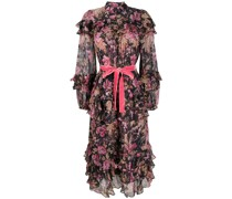 'Lucky Mulberry Floral' Kleid