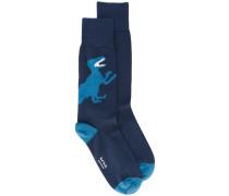 Socken mit Dinosaurier-Motiv