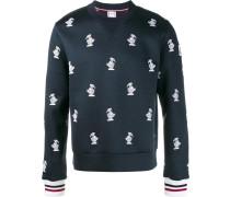 Sweatshirt mit Vogelstickerei - men