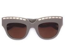 Verzierte Cat-Eye-Sonnnenbrille - women
