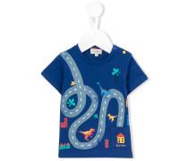 T-Shirt mit Print - kids - Baumwolle - 6 M.