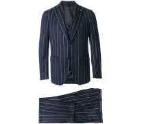 pinstriped suit