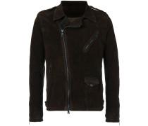 Jacke mit nicht mittigem Reißverschluss