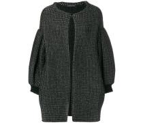 Oversized-Jacke mit Glockenärmeln