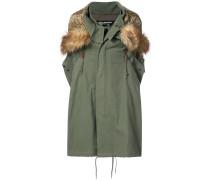 oversized parka jacket