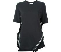 T-Shirt mit Rüschensaum