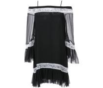 off shoulder tunic dress - women - Seide - 6