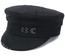 Bestickte Mütze