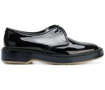 patent derby shoes