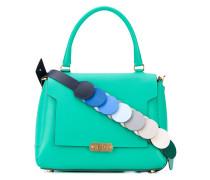 Handtasche mit Kontrastriemen - women - Leder
