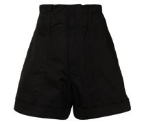 Shorts mit Paperbag-Taille