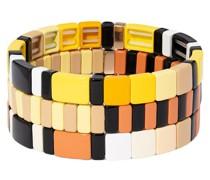 Set aus drei Armbändern
