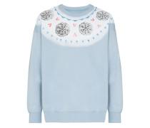 Sweatshirt mit Fair-Isle-Print