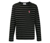Gestreiftes 'Ami de Coeur' T-Shirt