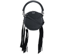 Lea mini fringed crossbody bag