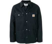 buttoned utility jacket
