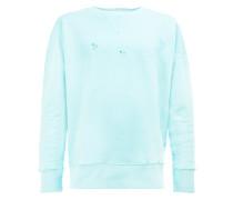 Sweatshirt im Used-Look - unisex - Baumwolle - M