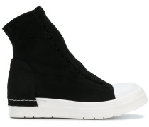 contrast sock sneakers