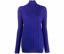 Gerippter Pullover aus Merinowolle
