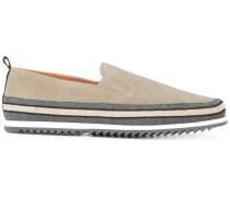 - Slip-On-Schuhe mit gestreifter Sohle - men