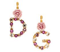 logo embellished earrings