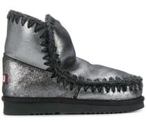 Stiefel mit gewebtem Detail