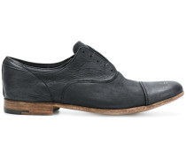 worn-effect laceless shoes