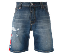 - Jeans-Shorts in Distressed-Optik - men