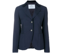 Blazer mit Ellenbogen-Patches