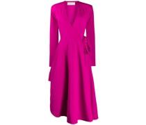 Jersey-Kleid in Wickeloptik