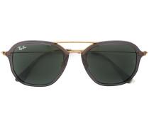 Rechteckige Sonennbrille