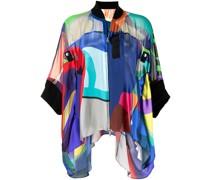 x KAWS Jacke mit abstraktem Print