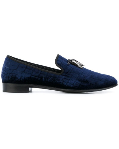 'Spacey' Samt-Slipper