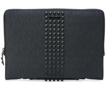 Laptoptasche mit Nieten
