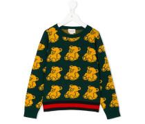 Pullover mit Teddybärmuster