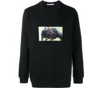 Sweatshirt mit Rottweiler-Print - men