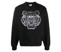 Tiger crew-neck sweatshirt