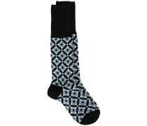 'Tracery' Intarsien-Socken - women