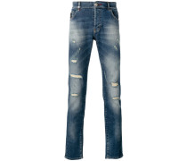 Schmale Distressed-Jeans - men