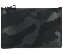tonal camouflage clutch
