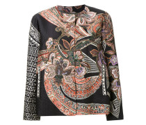 Jacke mit floralem Paisley-Print