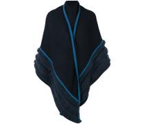 shawl with fringe detailing